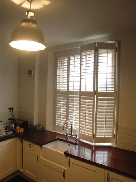 kitchen window shutters interior kitchen shutters west country shutters