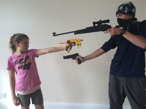 robbing a house nerf robbery defend the house youtube