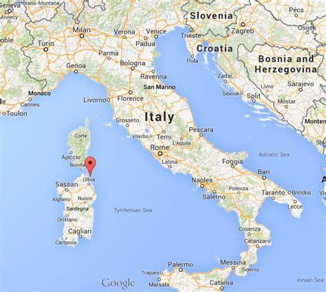 porto cervo mappa where is porto cervo map italy world easy guides