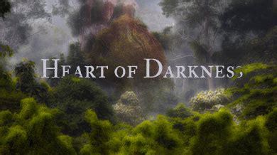 heart of darkness nature theme marlow s imprisonment in human nature literary analysis