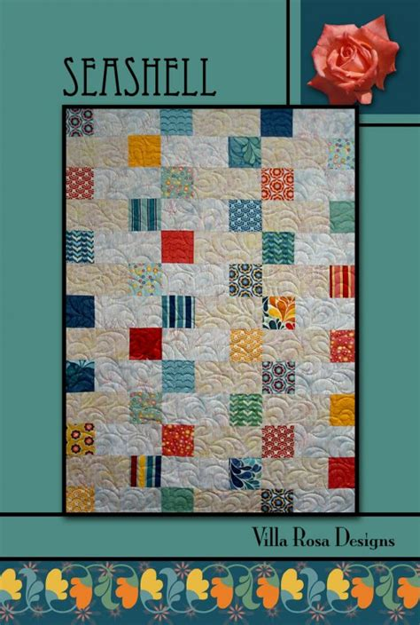 sea shell pattern one quilt place