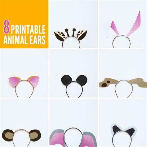 Free Printable Animal Ears | free printable animal ears with animal jam paging supermom