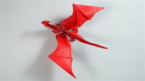 Origami Dragons - origami 8 0 intermediate version tutorial henry