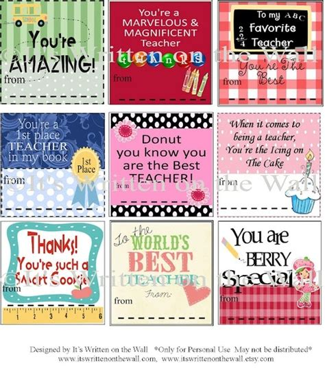 printable christmas gift tags for teachers free printable gift tag templates for teacher appreciation