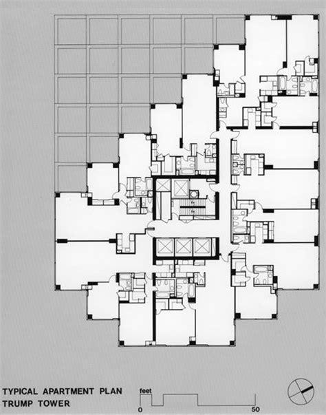 new york apartments floor plans der scutt trump tower luxurious apartments pinterest