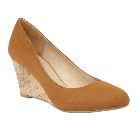 jelico microfibre wedge shoes lotus shoes from