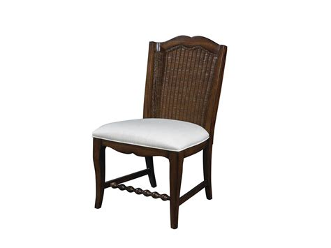 Fine furniture design dining room wicker back side chair 1050 824 matter brothers furniture
