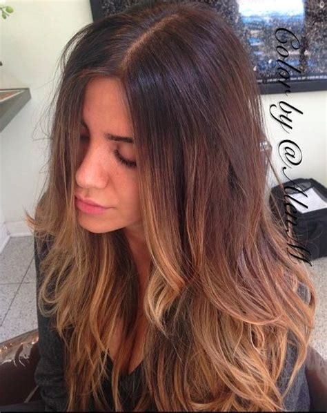 summer ombre for brunettes alen m summer brunette highlights balayage hair