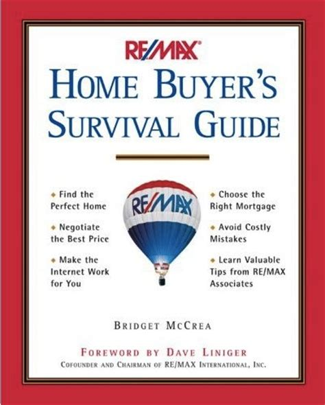 re max home buyer s survival guide advises buyers to find