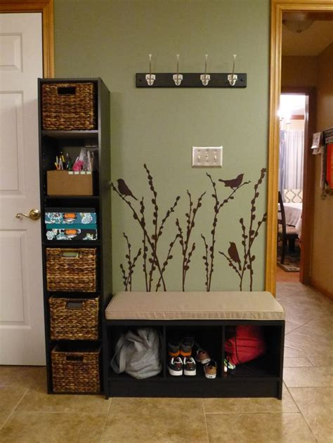 entryway storage bench and wall cubbies best 10 organized entryway ideas on pinterest entry