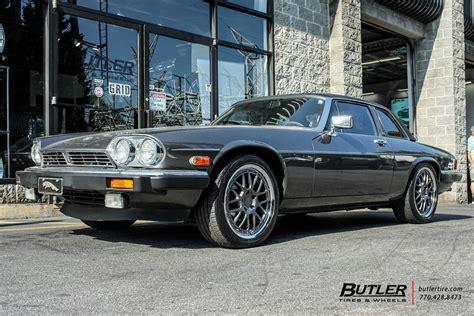jaguar xjs   tsw valencia wheels exclusively  butler tires  wheels  atlanta ga