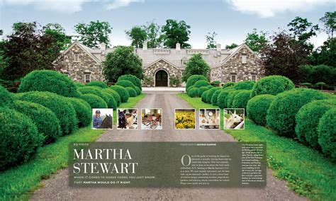folk at home martha stewart s stables in katonah