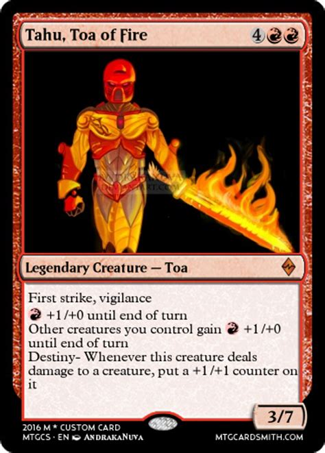 make custom magic cards magic the gathering custom cards for bionicle the ttv crew