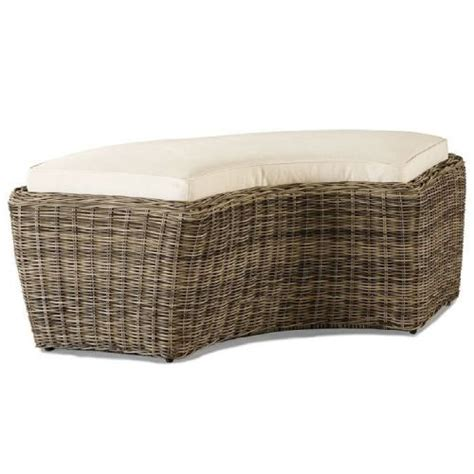 curved bench cushions lane venture replacement cushions summer garden d