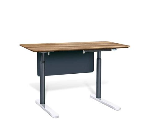Sit Stand Electric Desk Electric Sit Stand Desk By Unique Furniture 7400 Ze Desks