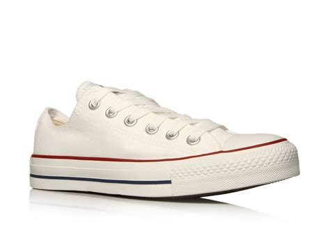 Converse Low Clasic List Merah converse chuck ox classic low top sneaker in white lyst