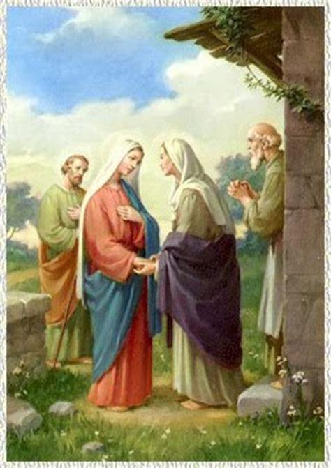Imagen De La Virgen Maria Visitando A Su Prima Isabel | congregaci 243 n obispo alois hudal la visitaci 243 n de la