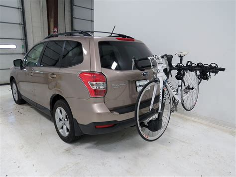 subaru forester thule vertex 4 bike rack 1 1 4 quot and 2