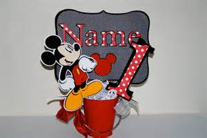 mickey mouse center pieces mickey mouse birthday centerpiece cutouts decoration