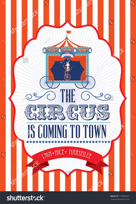 carnival posters template vintage circus poster template www imgkid the