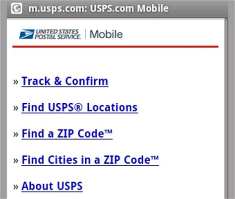 Post Office Zip Code Lookup by Usps Mobile Tracks Packages From Your Cellphone