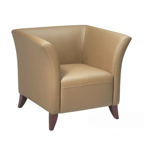 Taupe Chair by Taupe Leather Cherry Club Chair