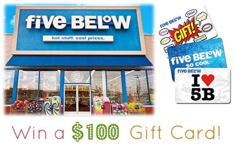 five below survey sweepstakes monthly win 100 gift card sweepstakesbible - Five Below Sweepstakes