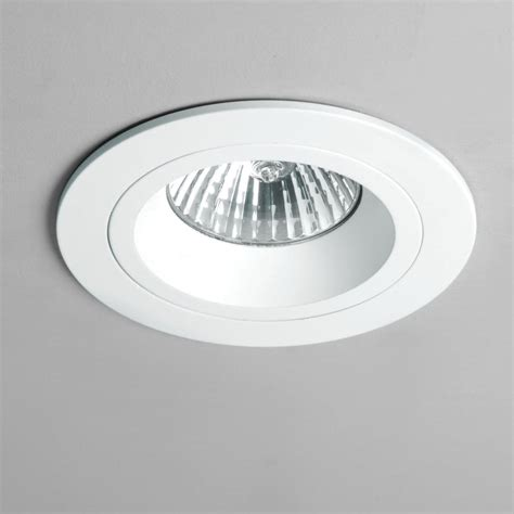 Astro 5672 Taro Gu10 Round White Fixed Fire Rated Recessed Fixed Ceiling Lights