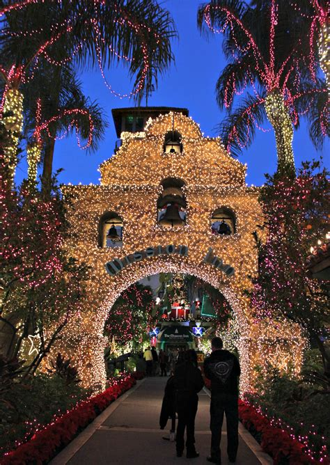 riverside mission inn lights riverside local mission inn festival of lights pearmama