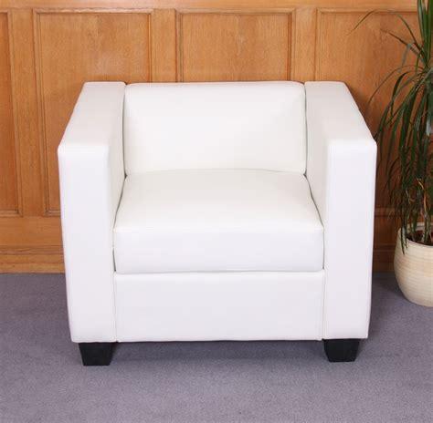 sofas de cuero blanco sof 225 individual modelo lille en cuero blanco