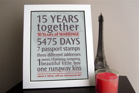customized anniversary gifts diy personalized wedding anniversary gift your