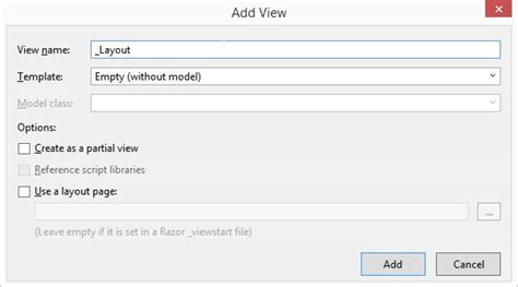difference between layout and partial view in mvc partial view sle in mvc day 35