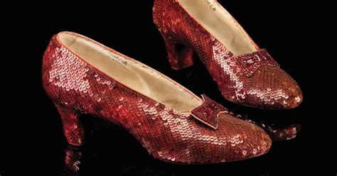 who stole the ruby slippers 1 million reward for dorothy s ruby slippers cbs news