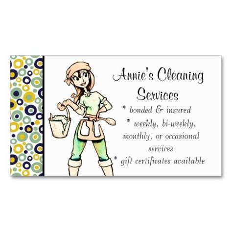 Business Cards For House Cleaning Templates by 199 Best Images About Services Business Cards On