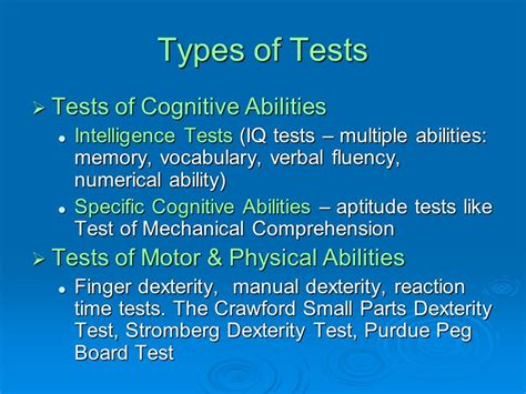 hr employee testing selection ppt