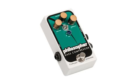 Gitarre Lackieren Kompressor by Pigtronix Pbc Philosopher Bass Compressor Test Bonedo