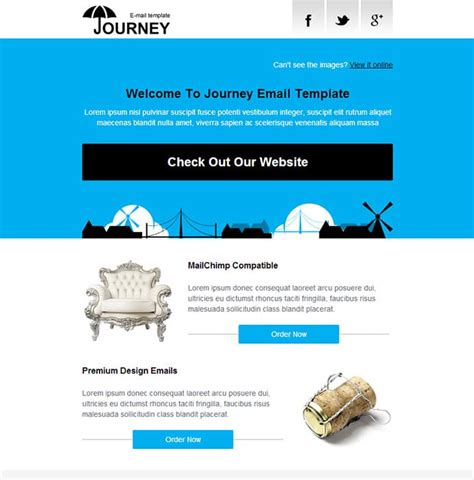 awesome email templates 20 go to places for newsletter templates writtent