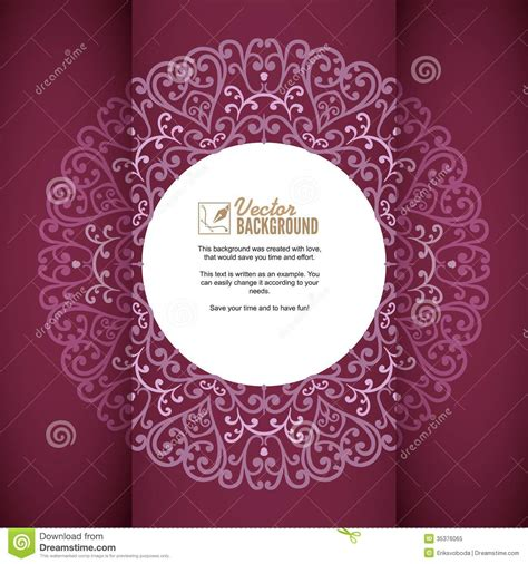 beautiful invitation card templates vintage background greeting card invitation with royalty