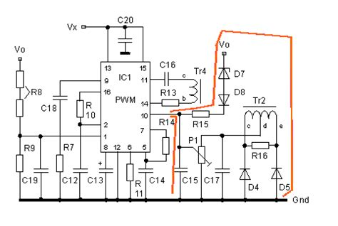 smps current sense resistor switch mode power supply circuit sg3525 ir2110 900w smps electronics projects circuits