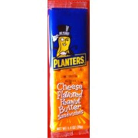 Planters Cheese by Planters Cheese Flavored Peanut Butter Sandwiches
