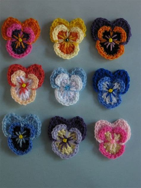 flower pattern on pinterest pansy on ravelry picture perfect and a free pattern