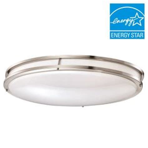Low Profile Led Ceiling Light Envirolite 24 In Brushed Nickel White Low Profile Led Ceiling Light 12 Pack Ev1424l30 35 12