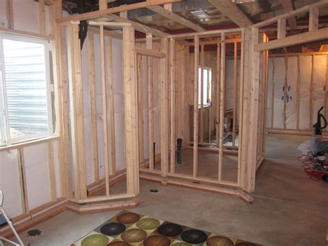 framing interior basement walls stud spacing and framing basement walls home decorations