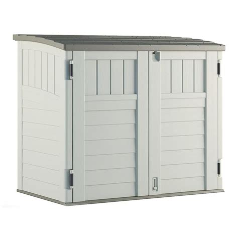 Rubbermaid Large Horizontal Storage Shed 3747 by Rubbermaid Large Horizontal Storage Shed 3747 Learn How