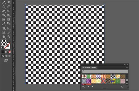 pattern fill in illustrator grids checkerboard draw behind in illustrator graphic