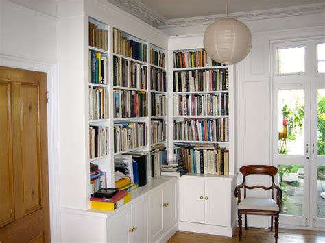 handmade corner bookcase unit dulwich the bookcase co