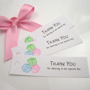 free printable baby shower thank you tags search results