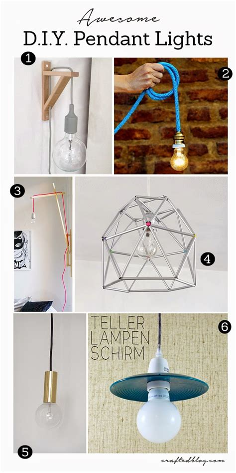 Diy Pendant Light Ideas with 6 Diy Pendant Light Ideas Crafted