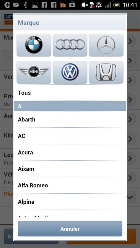 autoscout24 mobile autoscout24 mobile auto besoin d une voiture