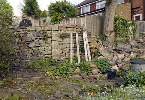 small garden walls south pennine walling